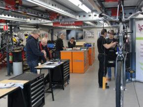 Scholing voor arbeid fietstechniek