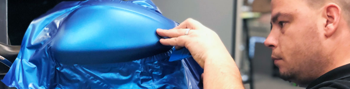 Cursus car wrapping