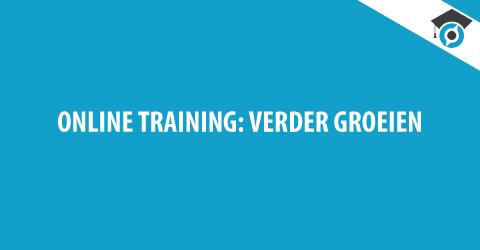 Online Training Verder Groeien
